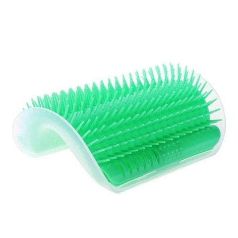 Image of Cat Self Groomer Massage Brush Self-Grooming Comb Cat Wall Brush Pet Comb Hair Removal Brush Perfect for Cat with Long and Short Fur