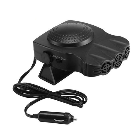 Image of Car Heater Fan 12V Car Fan Defroster Automobile Heater Warmer Defroster 2 In 1 Heating Cooling Function Windshield Defroster