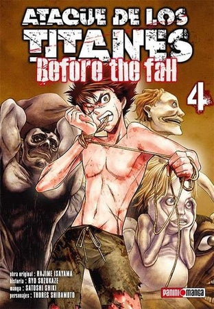Ataque De Los Titanes - Before the Fall 04