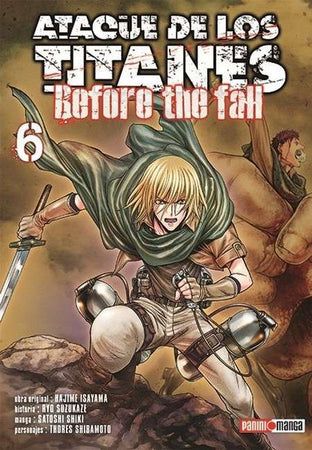 Ataque De Los Titanes - Before the Fall 06
