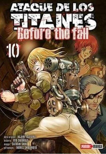 Ataque De Los Titanes - Before the Fall 10