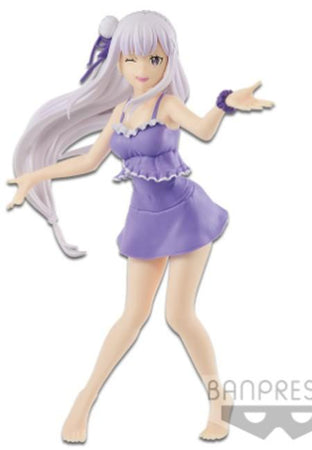 Figura Re Zero - Starting Life In Another World Emilia Exq (Recompensa)