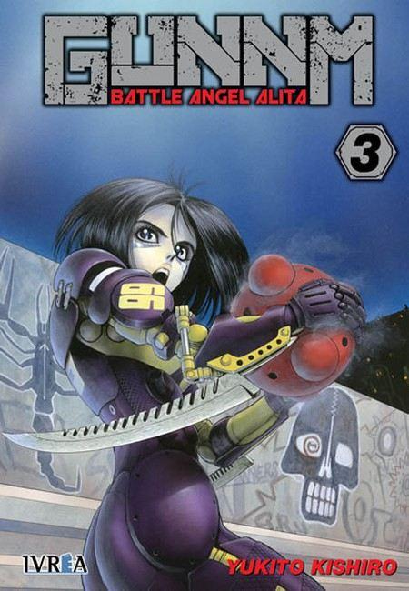 Gunnm - Battle Angel Alita 03