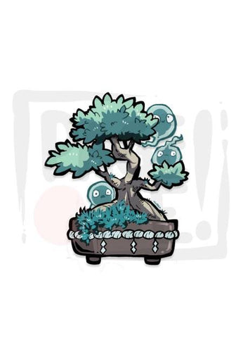 Sticker Bonsai