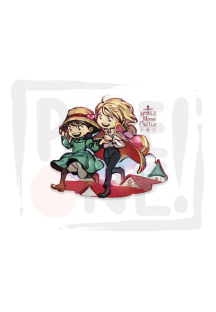 Sticker Howl`S Moving Castle