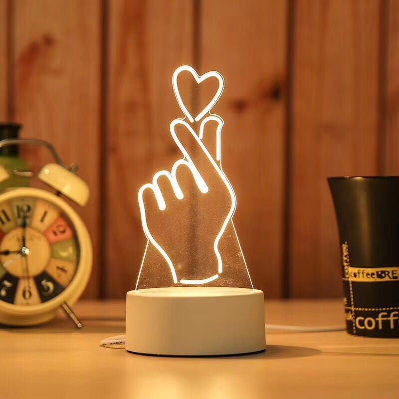 Bedroom bedside creative electronic night light
