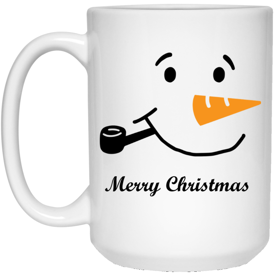 15 oz. Snow Man Mug