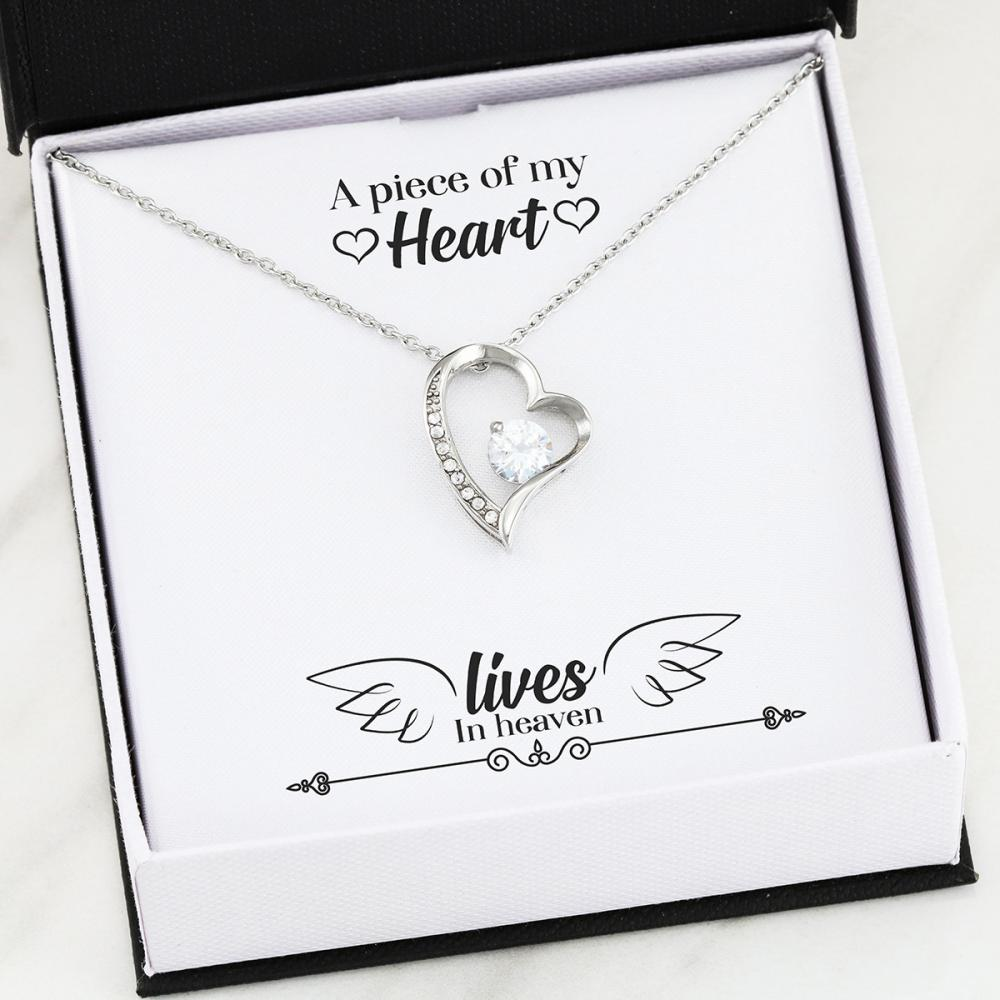 Remembrance - Piece - Forever Love Heart Necklace