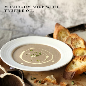 Mushroom Soup with Truffle Oil