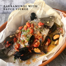Load image into Gallery viewer, Set for 2 - Barramundi with Sauce Vierge
