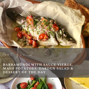 Set for 2 - Barramundi with Sauce Vierge