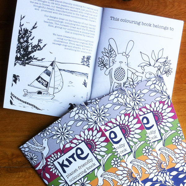 Kite colouring book