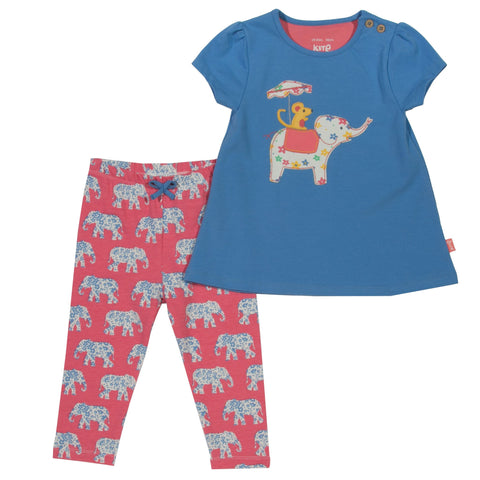 Kite Clothing SP17 Baby Girls Elephant set
