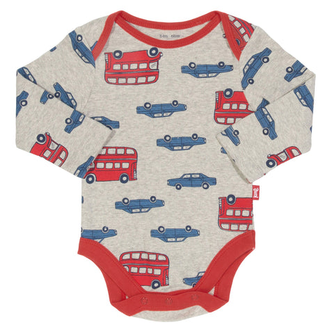 Kite Clothing Autumn-18 Baby Beep beep 2 pack bodysuit