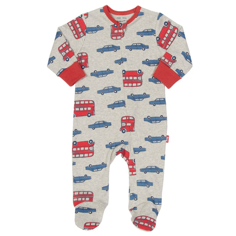 Kite Clothing Autumn-18 Baby Beep beep zippy sleepsuit