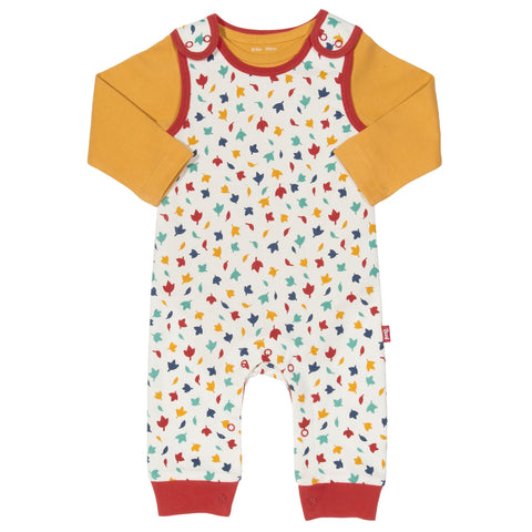 Kite Clothing Autumn-18 Baby Leaf dungaree set