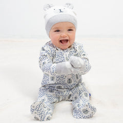 Kite Clothing Speckle bear sleepsuit