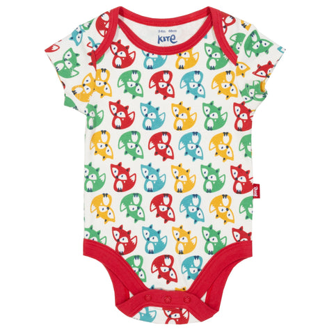 Kite Clothing Rainbow fox bodysuit
