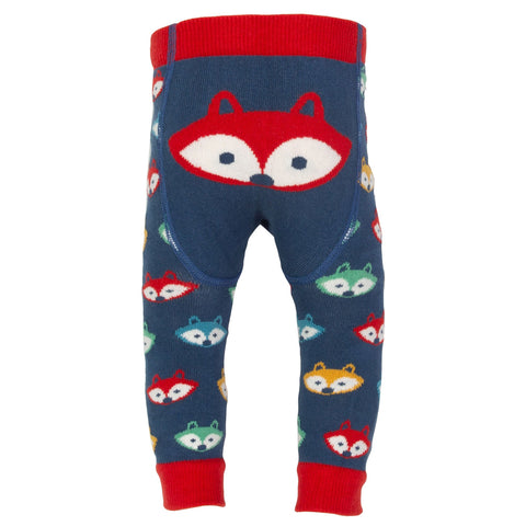 Foxy knit leggings