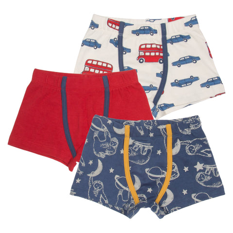Kite Clothing Autumn-18 Boys 3 pack trunks