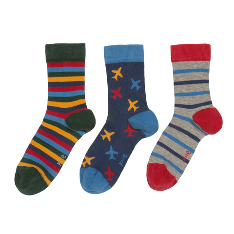 Kite Clothing Autumn-18 Boys 3 pack daredevil socks