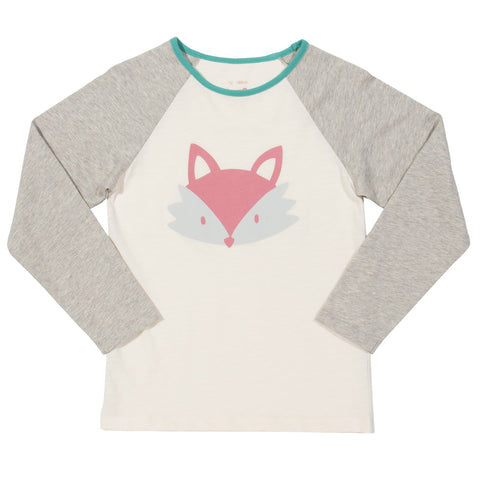 Kite Clothing Autumn-18 Girls Foxy face t-shirt