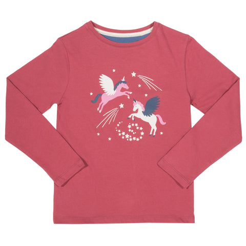 Kite Clothing Winter-18 Girls Pegasus t-shirt