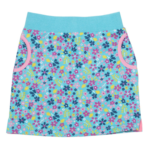 Forget-me-not skirt
