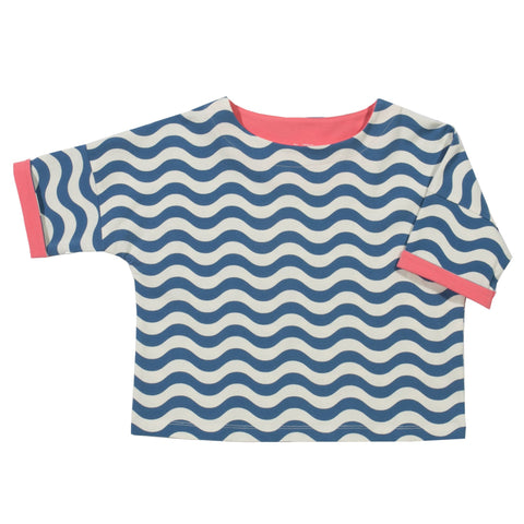 Kite Clothing SP17 Girls Wavy batwing top