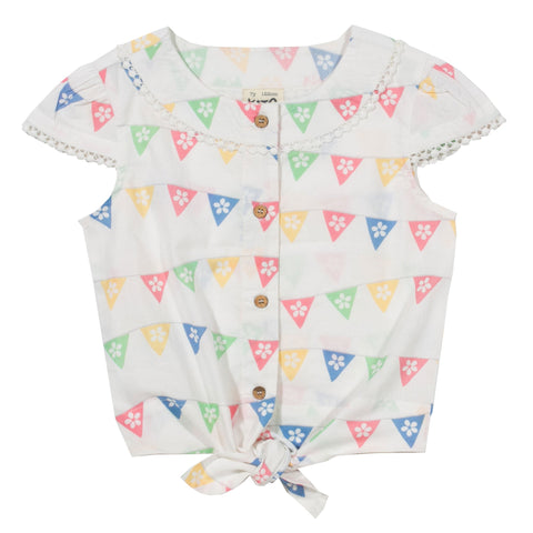 Kite Clothing SP17 Girls Bunting blouse