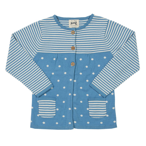 Kite Clothing SP17 Girls Stripes and spots cardi