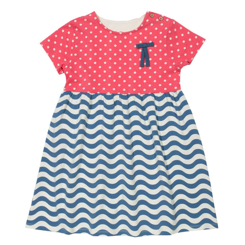 Kite Clothing SP17 Girls Wavy polka dress
