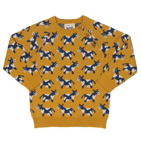 Kite Clothing Autumn-18 Toddler-boys Moo moo jumper
