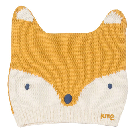 Kite Clothing Winter-18 Toddler-boys Foxy ochre hat