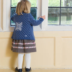 Kite Clothing Winter-18 Toddler-girls Snow spot cardi