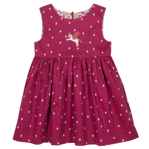 Kite Clothing Winter-18 Toddler-girls Pegasus reversible dress