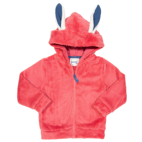 Kite Clothing Happy hare fleece pink