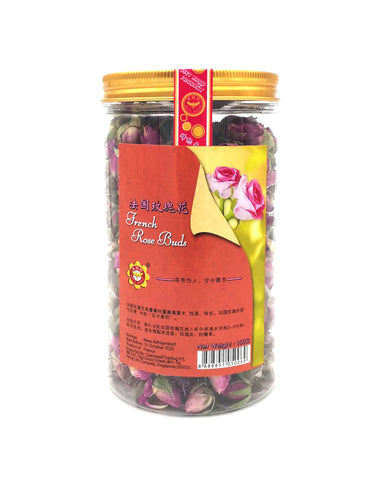 French Rose Buds 法国玫瑰花—100g