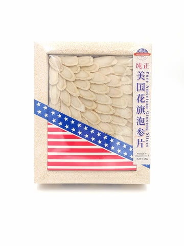 Pure American Ginseng Slices 纯正美国花旗泡参片(L) —113g