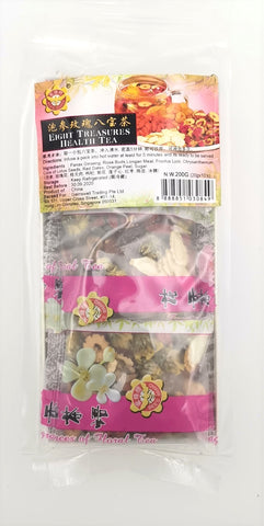 Ginseng & Rose Buds Health Tea 蜂标泡参玫瑰八宝茶—20g x 10 bags
