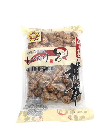 Selected Dried Mushrooms 精选茶花菇—400g