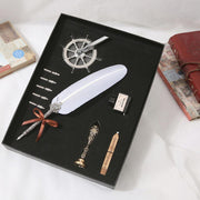 Feather Dip Pen Gift Box