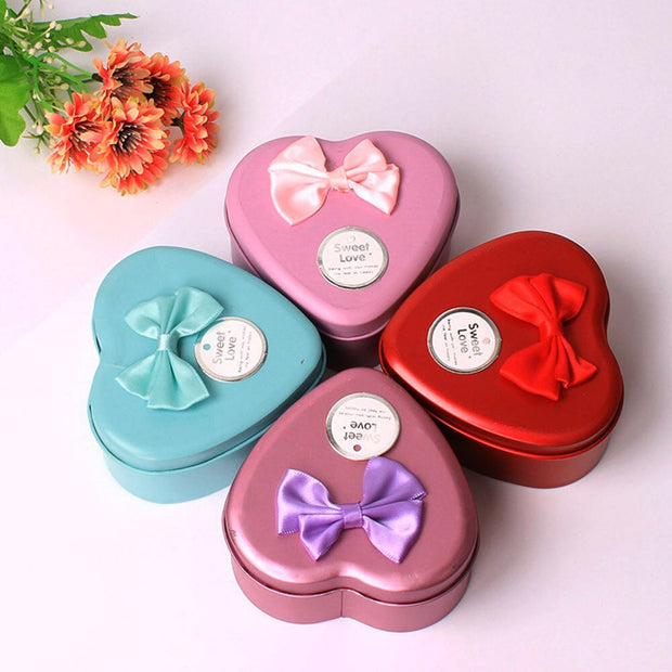 aaaa Flower Soap Rose Soap 6Pcs Heart Scented Bath Body Petal Rose Flower Soap Case Wedding Decoration Gift Festival Box #40