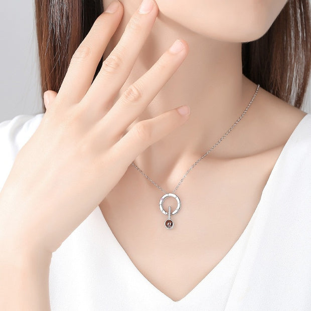 Hidden Message Necklace and Ring