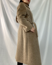 Load image into Gallery viewer, Belted Lama Coat