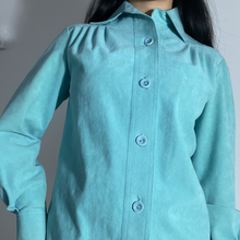 Load image into Gallery viewer, Turquoise Blouse