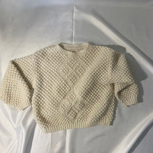 Load image into Gallery viewer, Thrifted Vintage Handmade Knitted Wool Jumper Ultra Warm and SoftThrifted Vintage Handmade Knitted Wool Jumper Ultra Warm and Soft