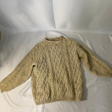 Load image into Gallery viewer, Thrifted Vintage Second Hand Oversized Knitted Wool pullover Softed Wool Made in England