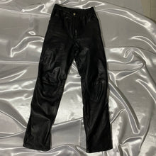 Load image into Gallery viewer, Vintage Leather Flare Pants