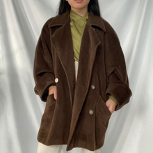 Load image into Gallery viewer, Oversized Wool Peacoat